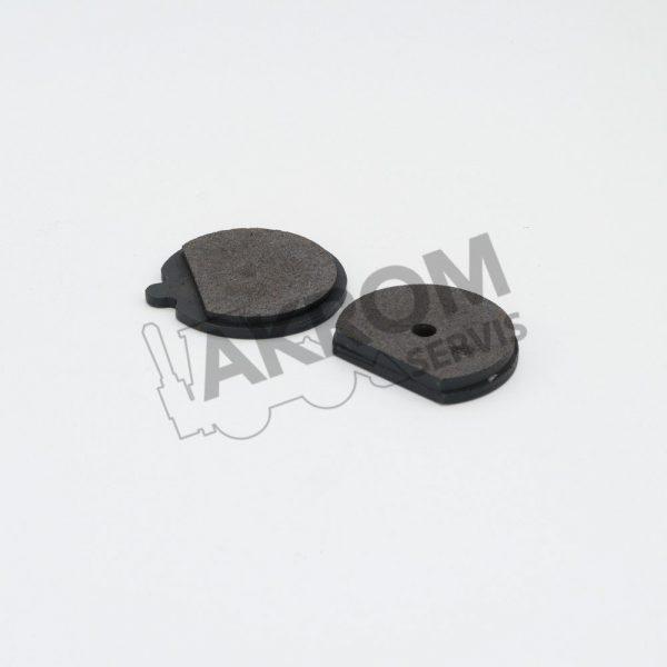 JCB Brzdové platničky ručnej brzdy