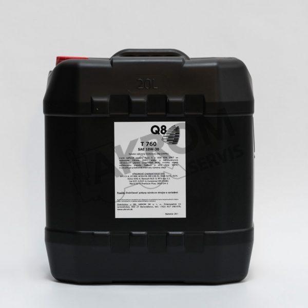 Olej motorový Q8 T760 10W30