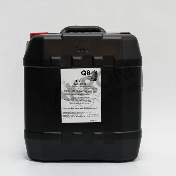 Olej motorový Q8 T760 15W40