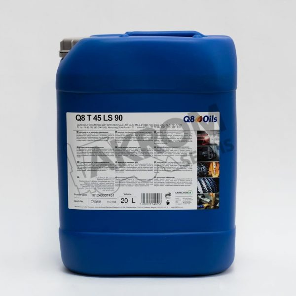 Olej nápravový Q8 T45 LS90