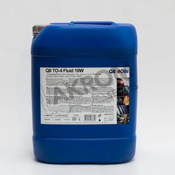 Olej prevodový Q8 TO-4 Fluid 10W